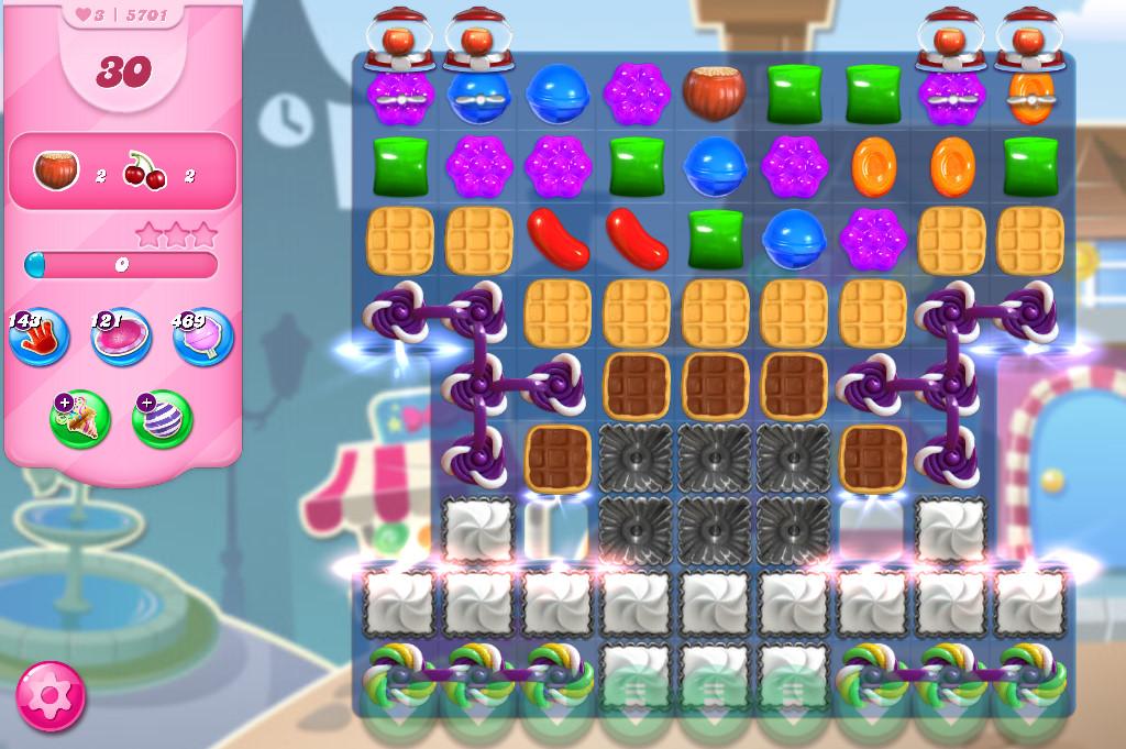 Candy Crush Saga level 5701