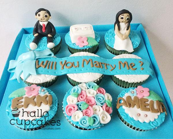 engagement cupcakes bandung