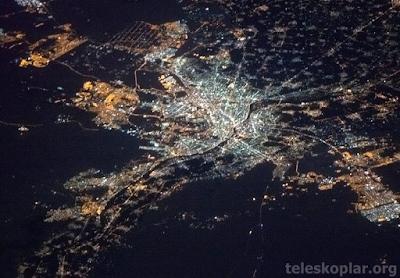 Uzaydan Kahire