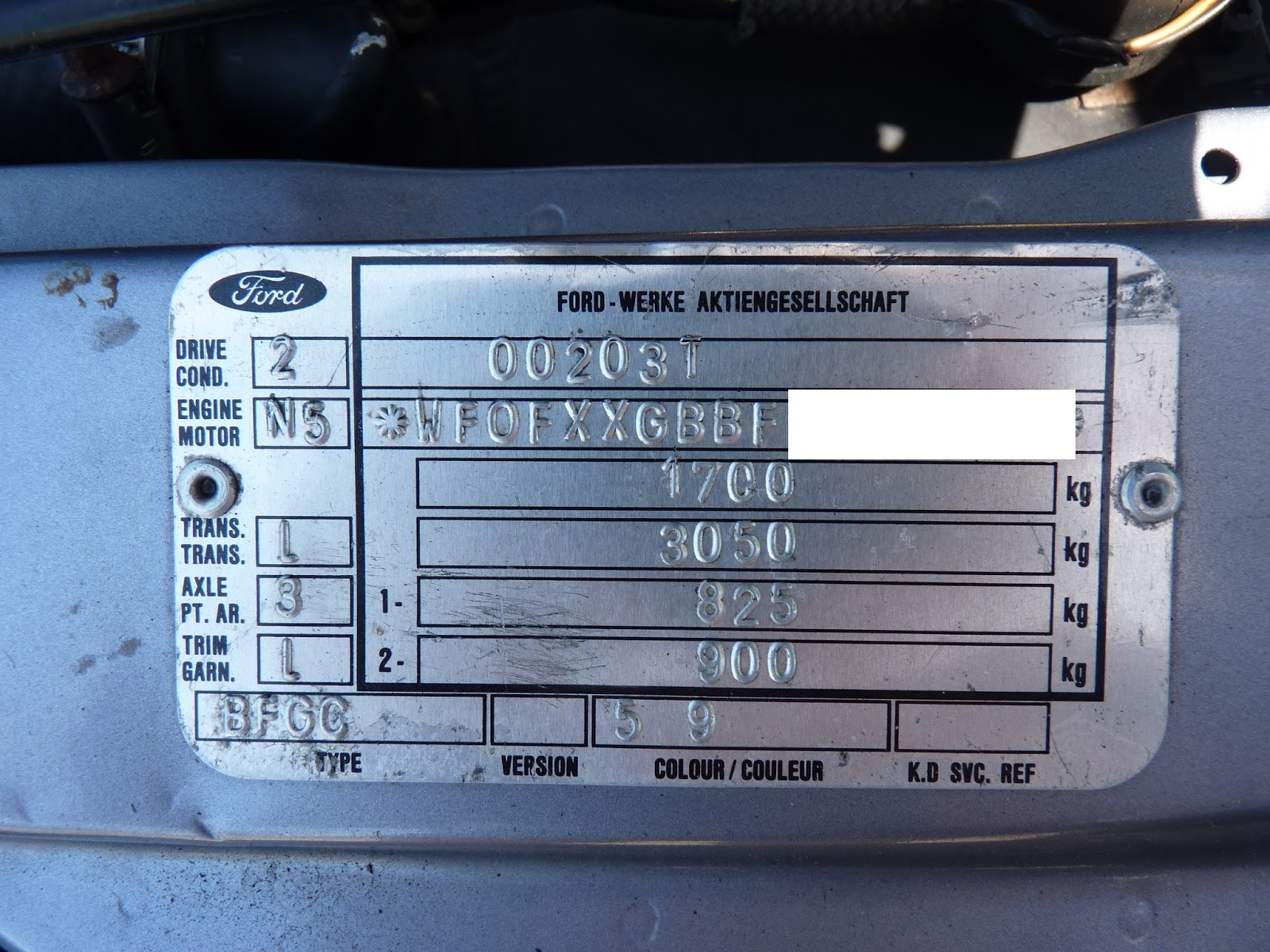 small resolution of ford sierra sapphire cosworth identification