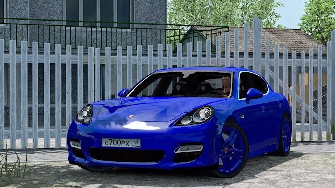 ETS 2 - Porsche Panamera Turbo 2010 V6.0 Modu (1.40)