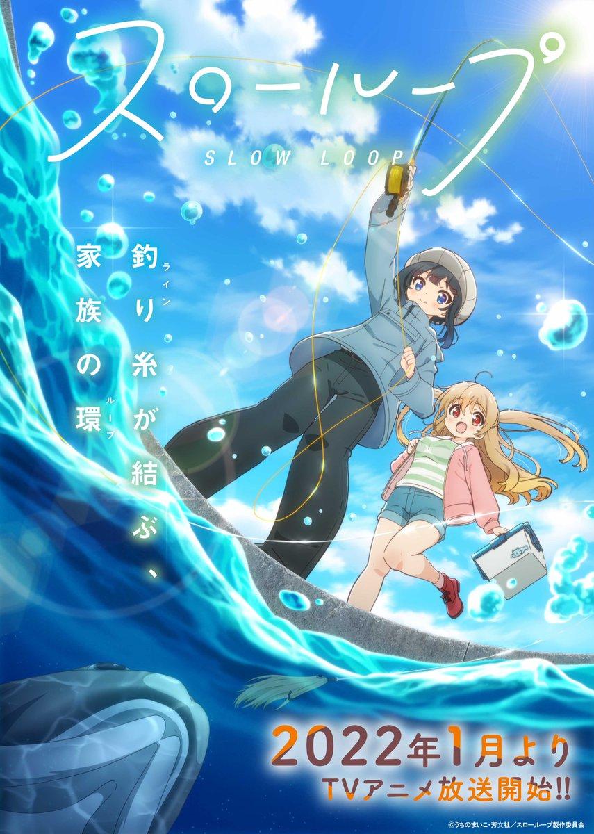 Plakat anime Slow Loop
