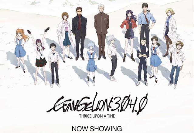 Evangelion: 3.0 + 1.0 Reaches 4.9 Billion Yen After 14 Days
