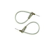 1釘1環,未包膠,lanyard for eas hard tag,防盜鋼索,LY-L06