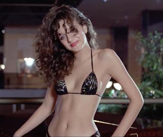 Valeria Golino in the 1984 movie BLIND DATE