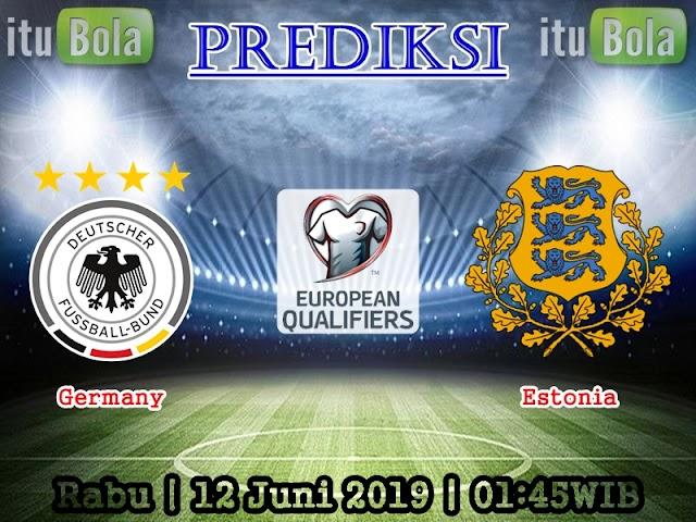 Prediksi Germany vs Estonia - ituBola