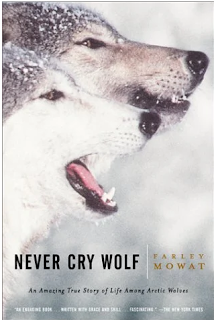 what i m reading: never cry wolf by farley mowat