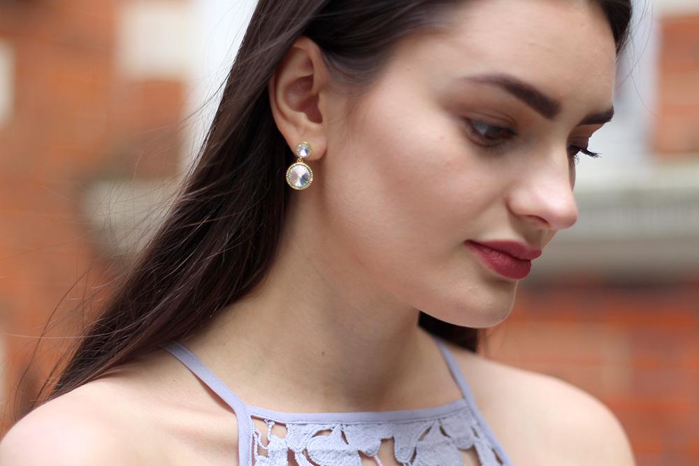 ted baker earrings peexo fashion blogger