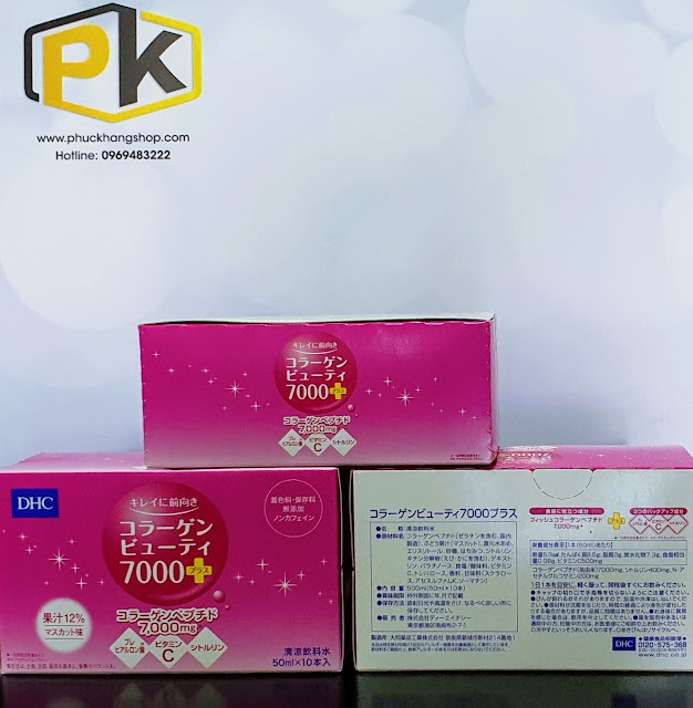 DHC Collagen Beauty 7000 Plus, Hàng Nhật