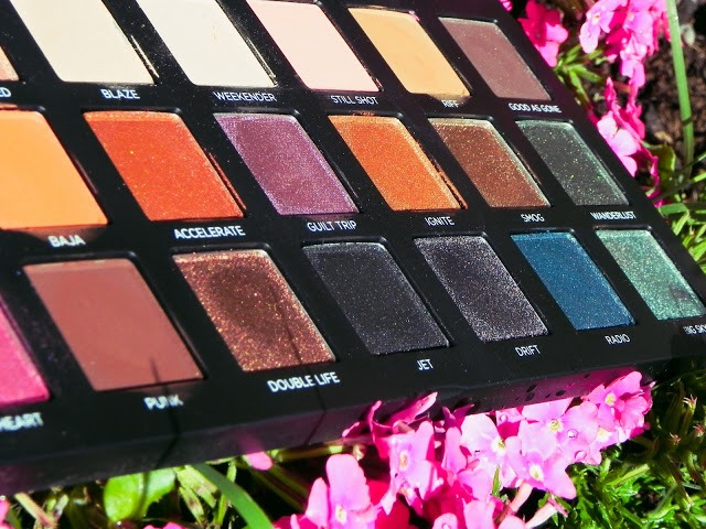 Born to run palette closeup