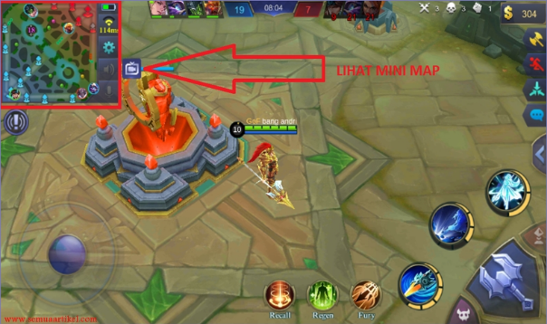 map mobile legend