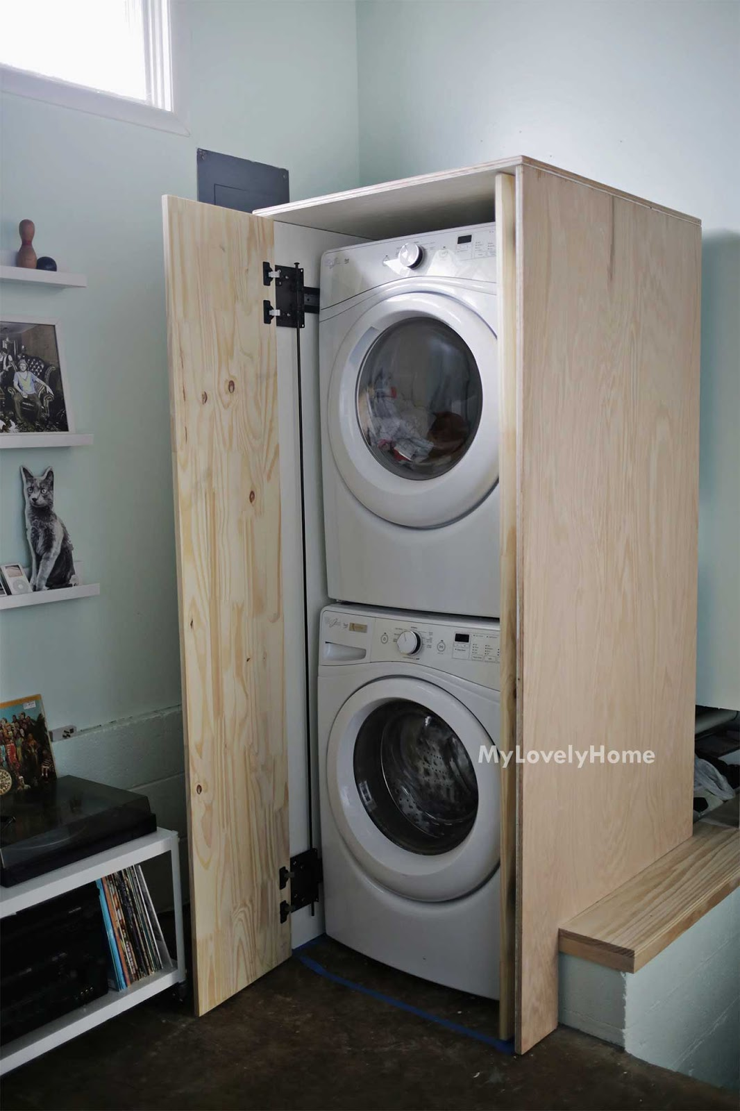 Washer And Dryer Enclosure Plans Best