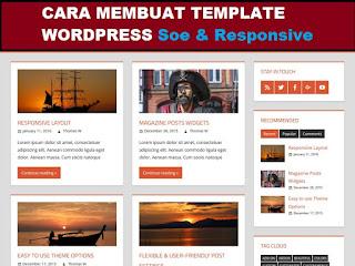 Cara Membuat Template WordPress Responsive HTML5