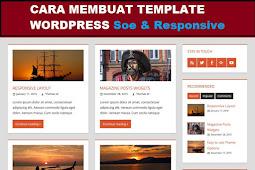 Cara Membuat Template WordPress Responsive HTML5 Dari Nol Sampai Akhir