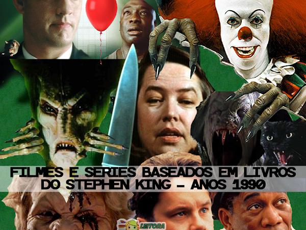 Stephen King: Lista de filmes e séries inspirados em livros e contos do autor - Anos 1990