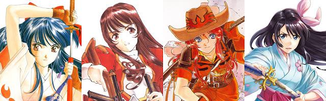 sakura wars franchise