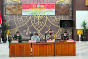 Bersama Forkompinda, Polres Tebo Gelar Rapat Pelaksanaan dan Percepatan Penyerapan Anggaran Covid-19