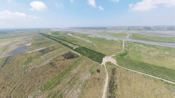 濁水溪揚塵防制 水利署四河局趕秋節前完成水覆蓋