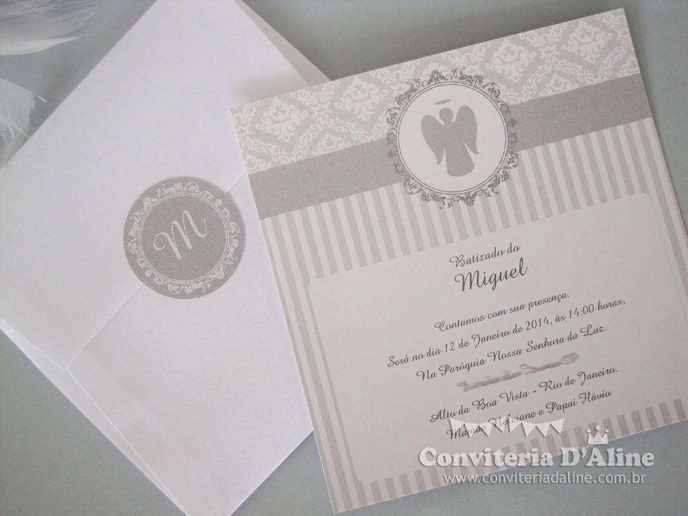 Blog Conviteria Daline Convites Batizado