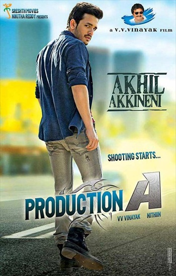 Akhil 2015 UNCUT Dual Audio Hindi 720p HDRip 950mb