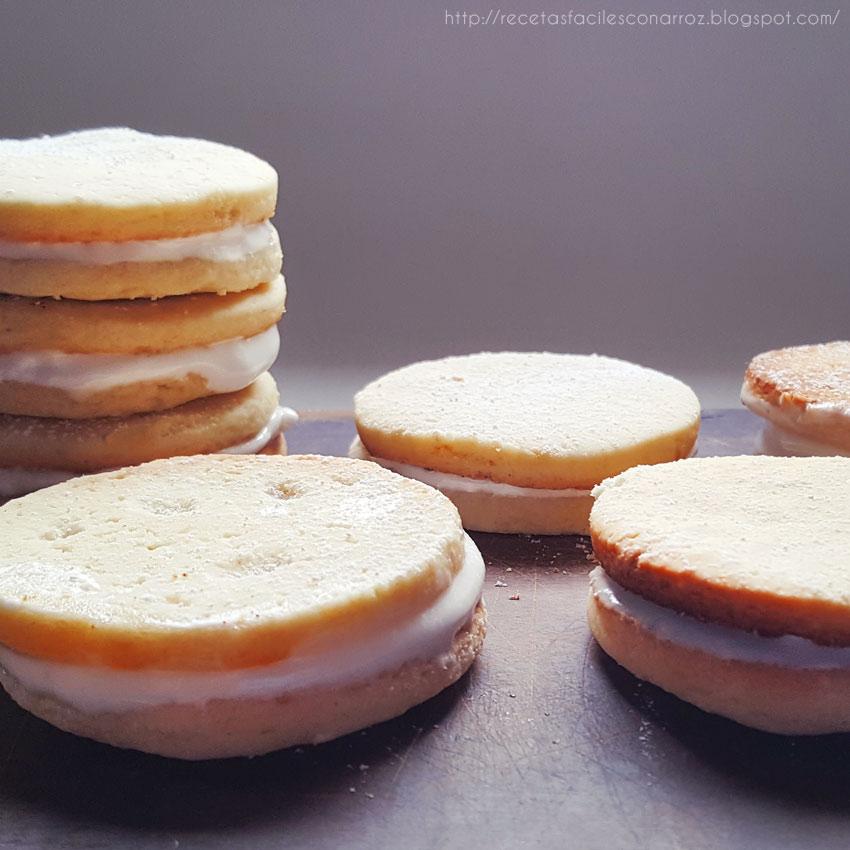 galletas de limon rellena sin gluten ni lactosa