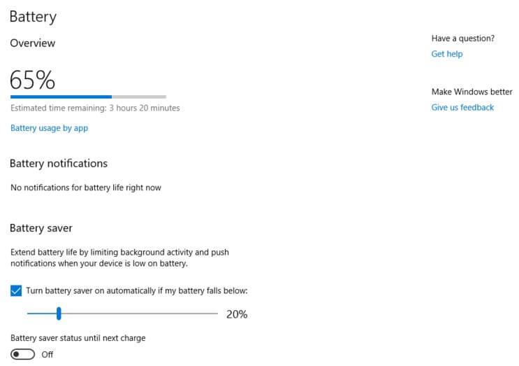 Kata X1 Battery Stats
