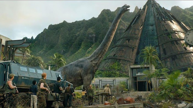 Projected Film - Jurassic World: Fallen Kingdom Review