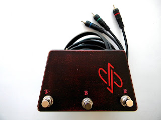 Sunn Concert Lead footswitch (RCA connectors)