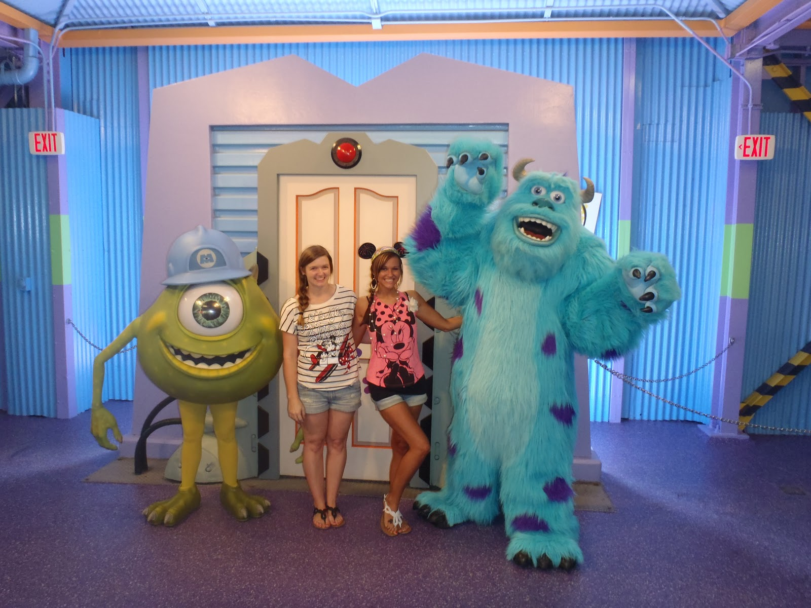 meet mike sully from monster s inc tips from the disney divas