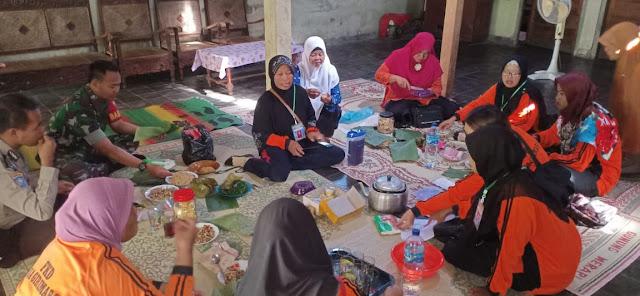 Kodim Sragen - Pertemuan Forum Kesehatan Desa Girimargo