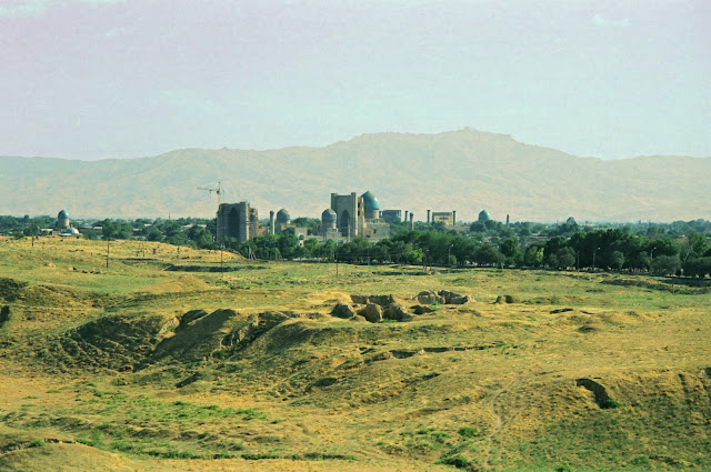 Ouzbékistan, Samarcande, © Louis Gigout, 1999