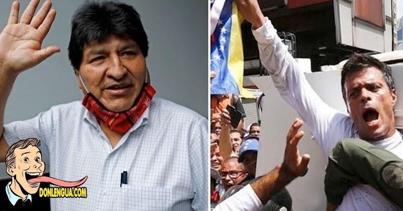 Evo Morales entra y Sale Leopoldo López | El Intercambio del día