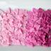 DIY torrões de açúcar em formato de coração