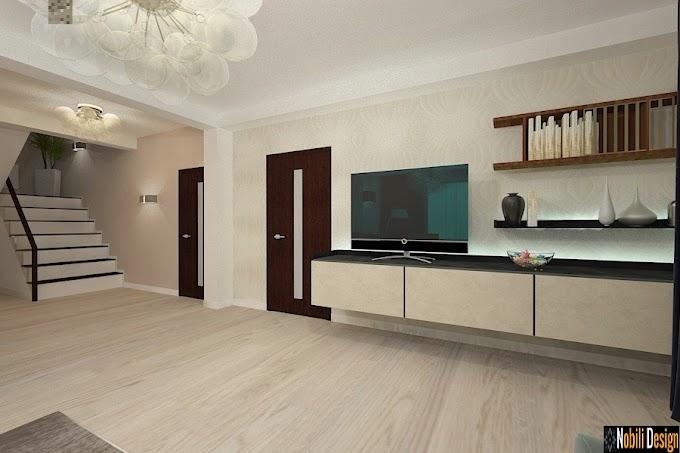 Design interior vila moderna Constanta - Amenajare interioara casa cu etaj in Constanta