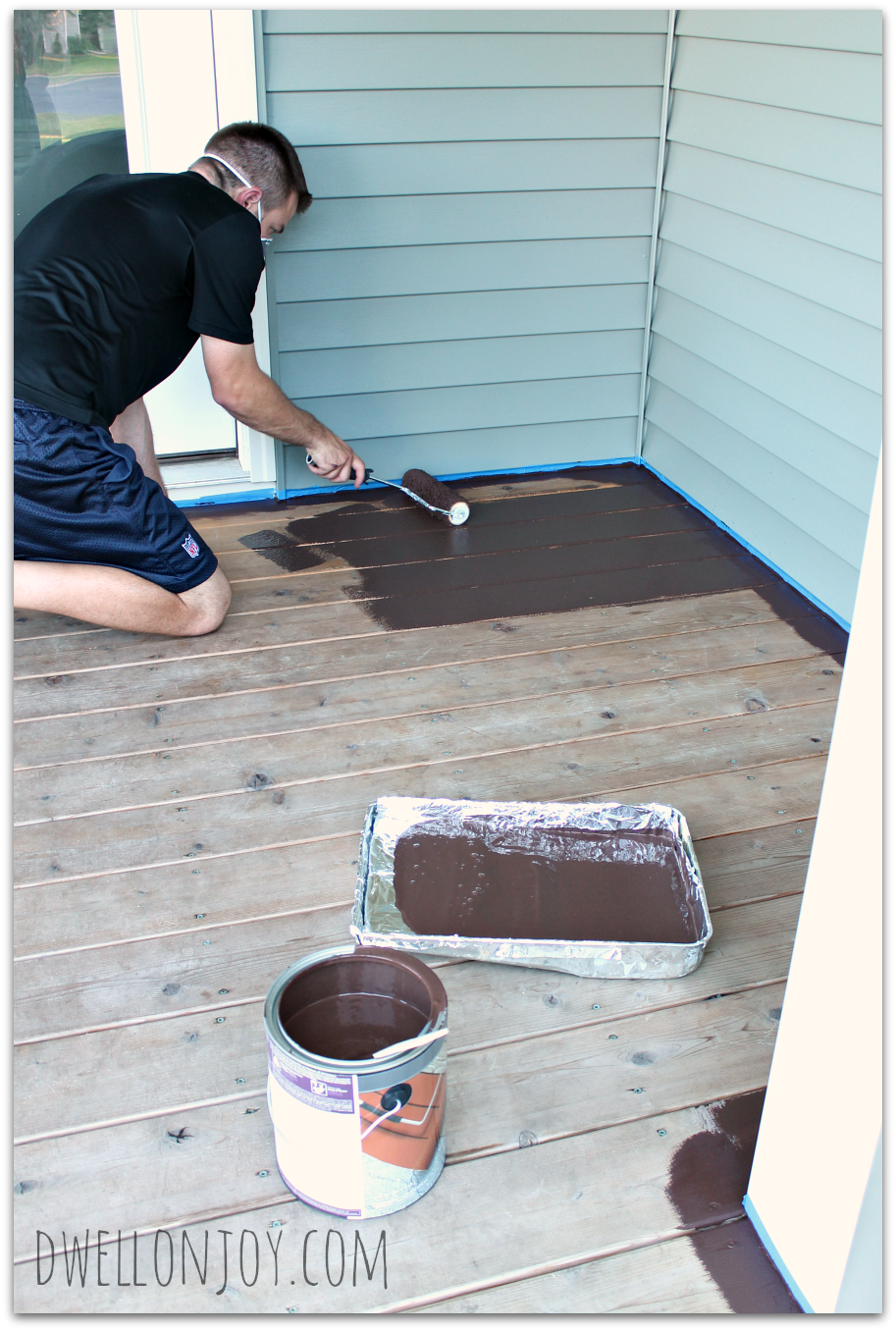 A Deck Face Lift Deckover By Behr Dwell On Joy