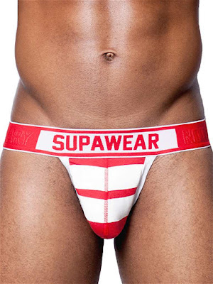 Supawear Crimson Jockstrap Underwear Front Detail Gayrado Online Shop