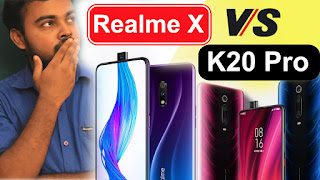 Realme X vs Xiaomi Redmi K20 Pro comparison, compare Realme X vs Xiaomi Redmi K20 Pro,Realme X vs Xiaomi Redmi K20 Pro which is best
