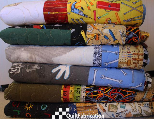 six t-shirt quilts