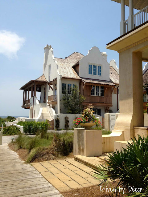 A walking tour of rosemary beach driven by decor for Northwest exteriors santa rosa