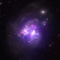 Colliding Galaxies Arp 299