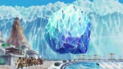 ไดม่อน โจสโยนก้อนน้ำแข็งยักษ์ด้วยตัวคนเดียว