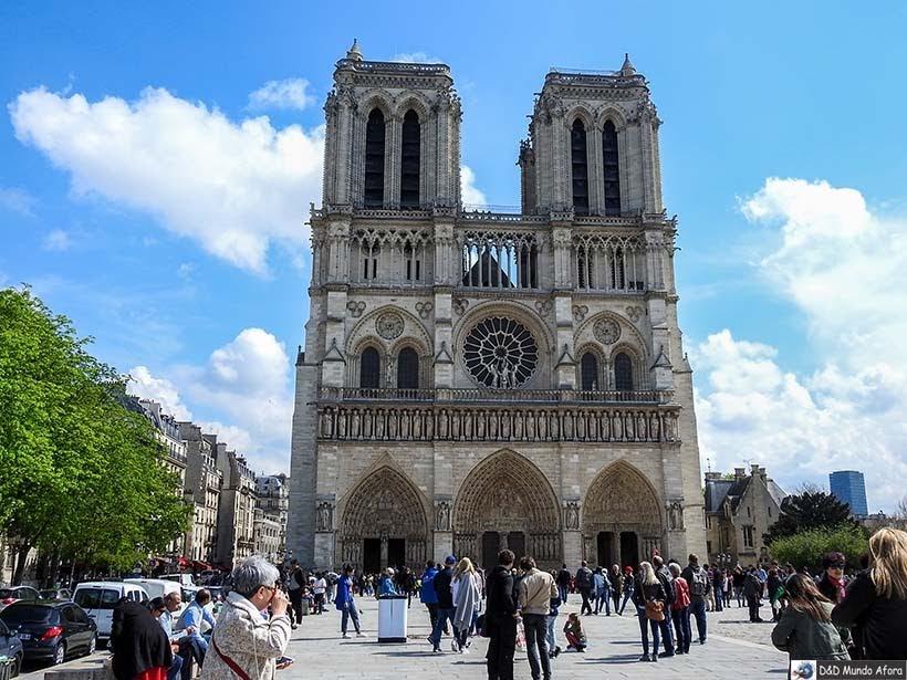 Catedral de Notre Dame - O que fazer em Paris: principais pontos turísticos