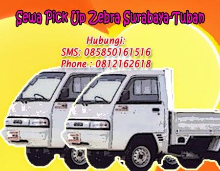 Sewa Pick Up Zebra Surabaya-Tuban