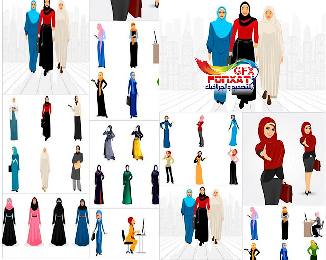 مجموعة من صور بنات محجبات فيكتور اسلامى