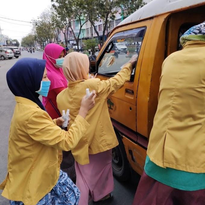 IPM Cabang Tegal Sari 2 Berbagi Masker Dan Handsanitizer Ke Masyarakat