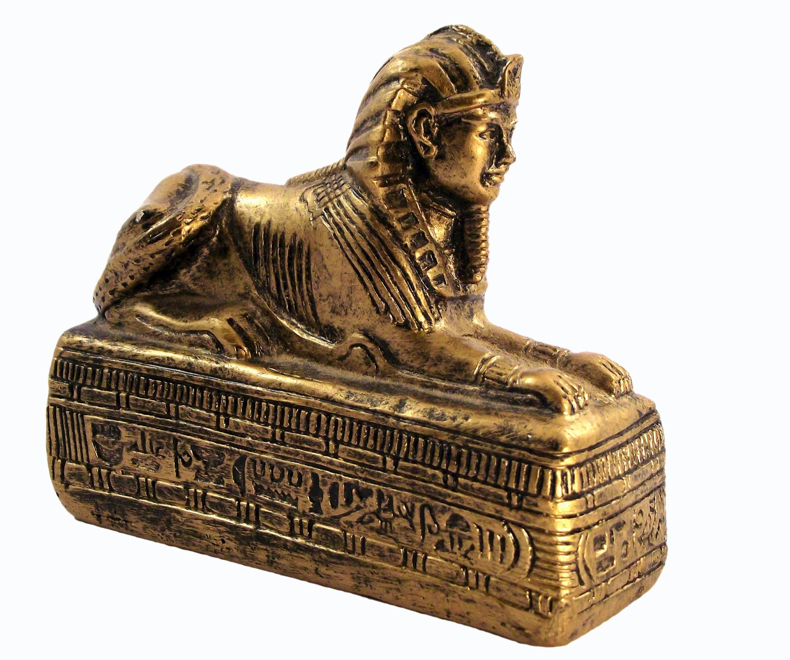 Egyptian Sphinx Statue, Symbol of Traditional Egyptian ...