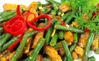 Resep Oseng Tempe Kacang Panjang Spesial, Cocok untuk Menu Sehari hari