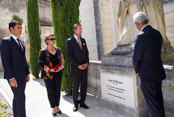 The Duke and Duchess visited Saint-Pierre Cathedral of Angoulême