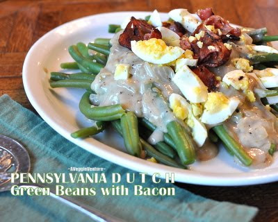 Pennsylvania Dutch Green Beans with Bacon
