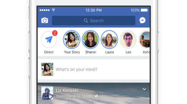 بعد واتس آب وإنستغرام ومسنجر.. فيسبوك تعيد نسخ ميزة سناب شات على تطبيقها الرئيسي